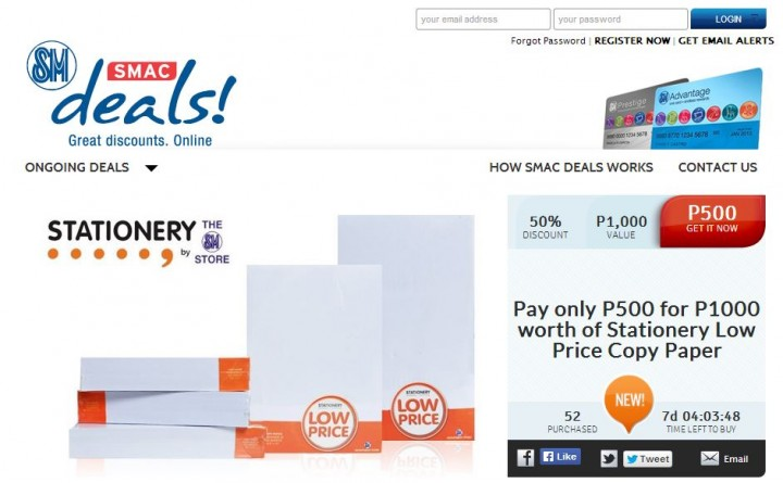 SMAC deals