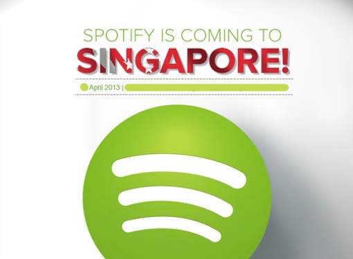 Spotify Singapore launch April 2013