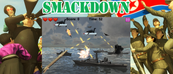 north korea smackdown