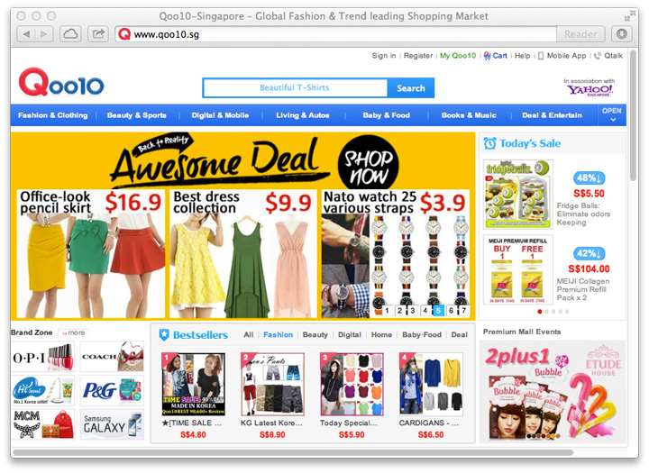 Qoo10 Singapore Hits 900,000 Members, Transacting $73 Million in Sales ...