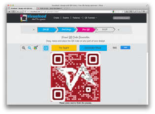 Visualead makes QR codes