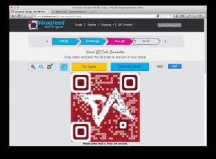 Visualead makes QR codes