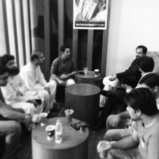Gathering ideas: A meetup in Islamabad.
