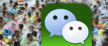 Wechat user numbers