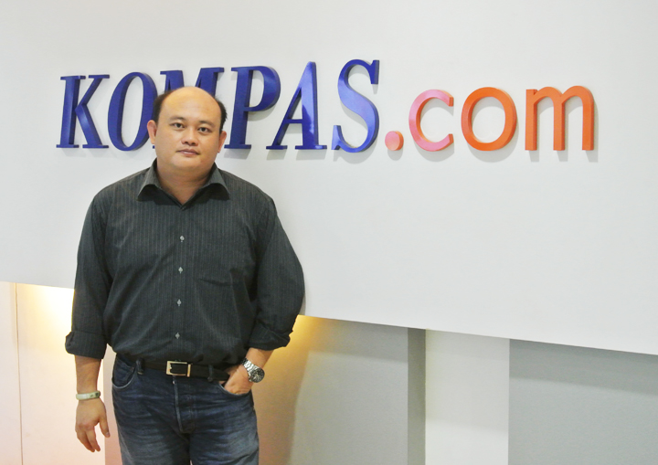 Edi Taslim, digital group director at Kompas Gramedia