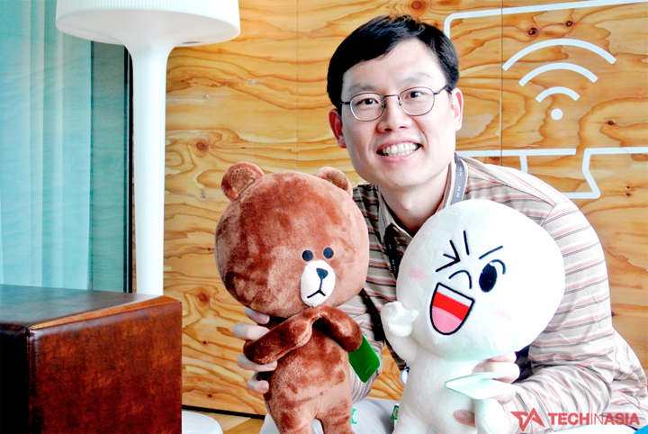 Mr. Kang Hyunbin, head of business office at LINE Plus Corp