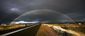 long-road-rainbow-wallpaper