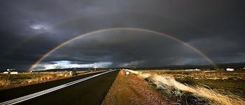 long-road-rainbow-wallpaper
