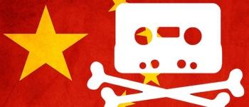 China digital music piracy