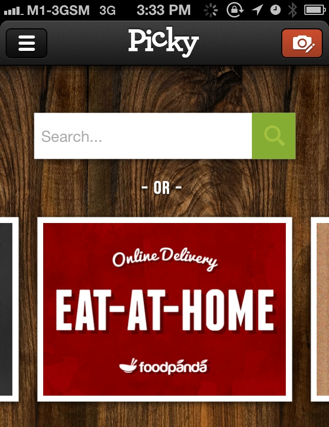 Foodpanda Slips Into 'Picky' App, Singapore