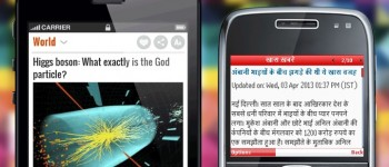 India's NewsHunt App