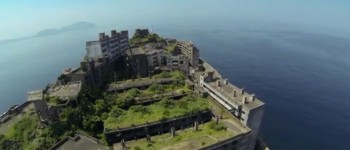 Google's StreetView Guy Walking Around Japan's Creepily Deserted Battleship Island