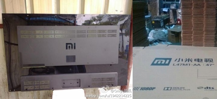 Xiaomi TV leaked images
