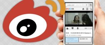 Youku Sina Weibo