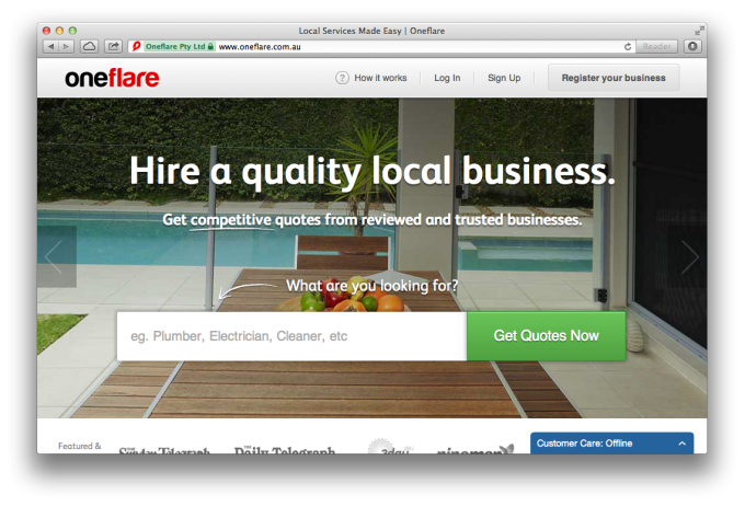 oneflare site