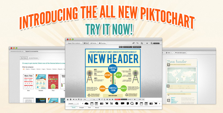 Online Infographic Design Tool PiktoChart Hits 300,000 Users