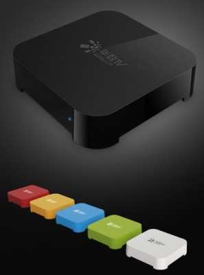 Alibaba launches set-top box and smart TV OS