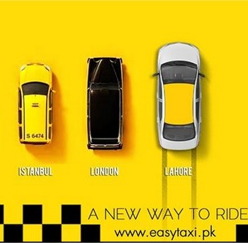 Rocket Internet in Pakistan - EasyTaxi Lahore