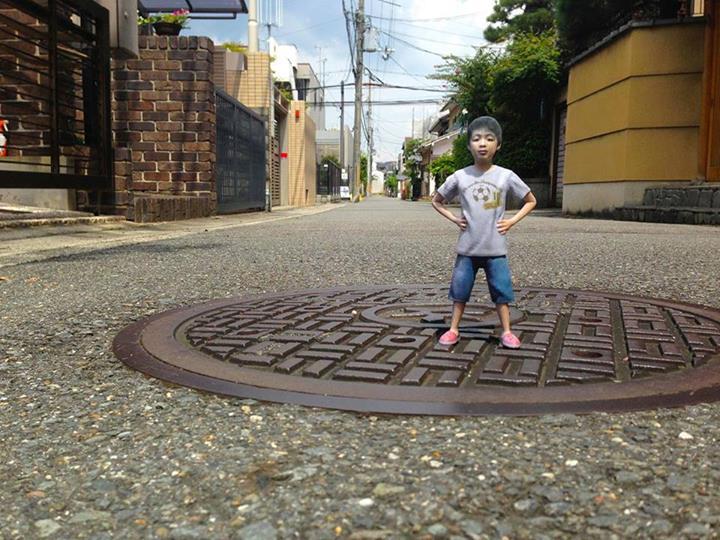 Japan Fotofig makes 3D printed fugures of people