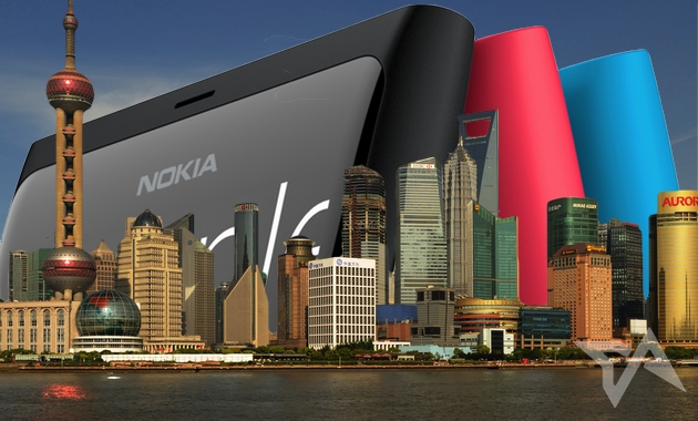 Nokia sales in China and Asia, 2013