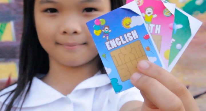 SIM card and SMS Textbooks in the Philippines