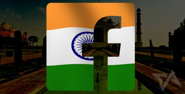 Facebook users in India, 2013