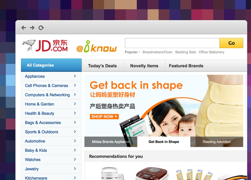 JD Singapore ecommerce