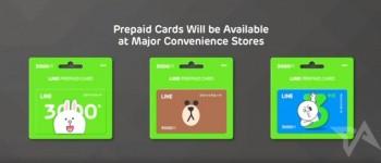 Line prepaid cards launch