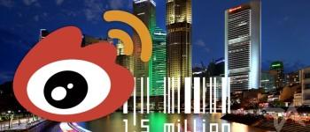 Sina Weibo users in Singapore