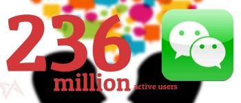 WeChat 236 million users