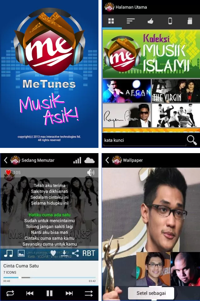metunes screenshot
