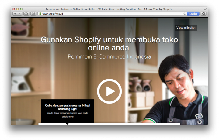 shopify indonesia site