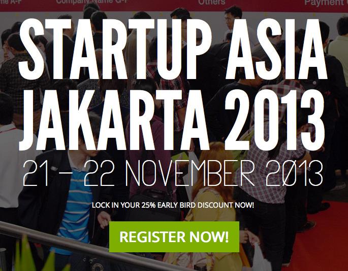 Startup Asia Jakarta 2013