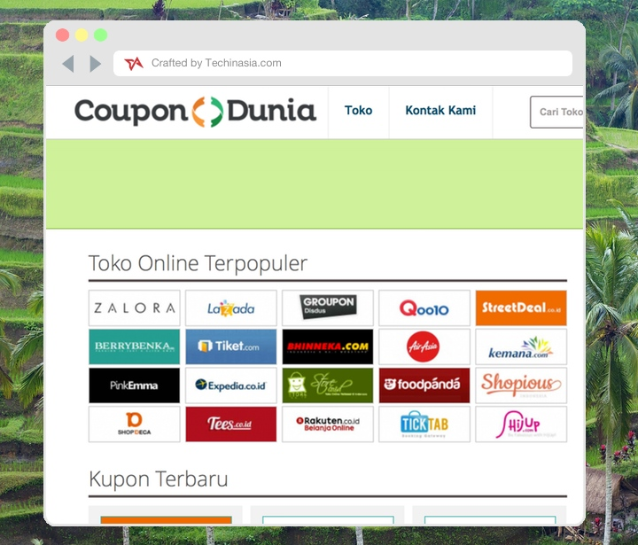 CouponDunia Indonesia launch
