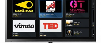 Opera and Konka smart TV