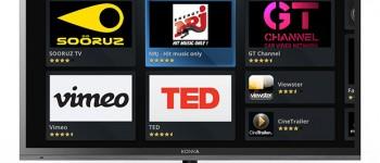 Opera and Konka smart TV