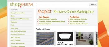 Shop.bt ecommerce in Bhutan