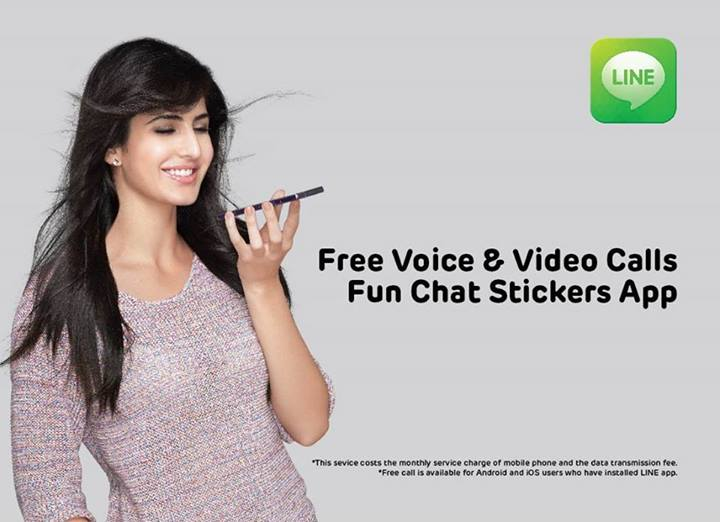 Line reaches 10 million users in India, Katrina Kaif advertises Line app