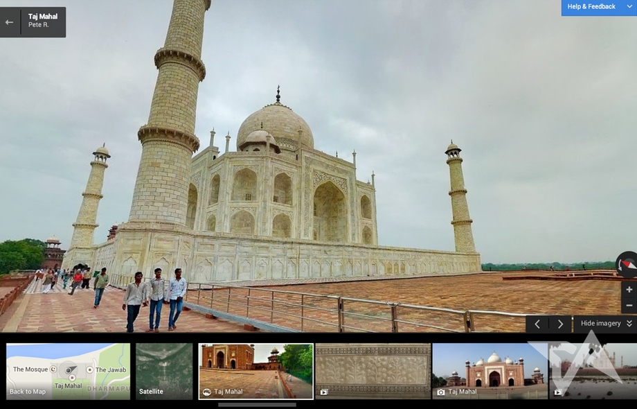 Google creates photo tours of India's top tourist attractions