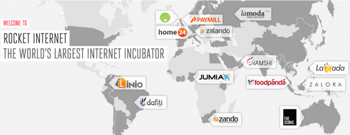 Rocket Internet network