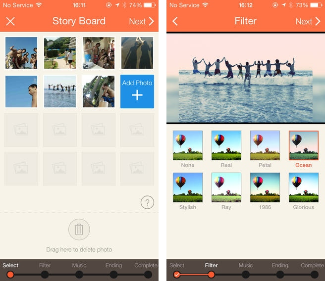 SlideStory wants to get you into photo slideshows