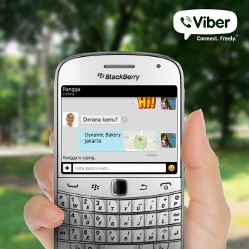Viber BlackBerry Version in Indonesian