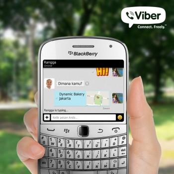 Viber BlackBerry Version in Indonesian