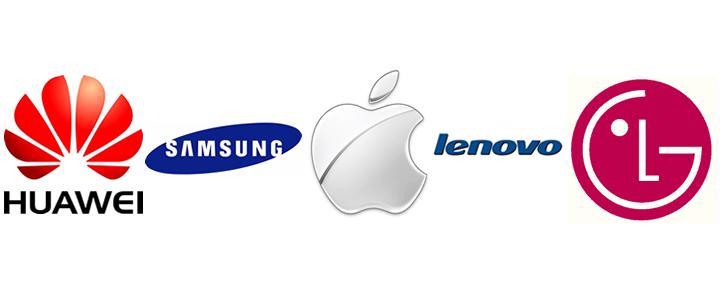 q3 smartphone logos