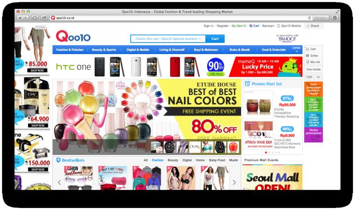 qoo10 indonesia site