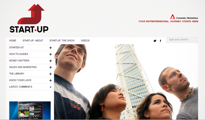 Channel NewsAsia launches new show about startups raising