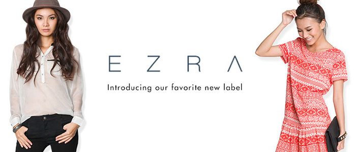 Zalora launches own private label called ezra reheart Image collections