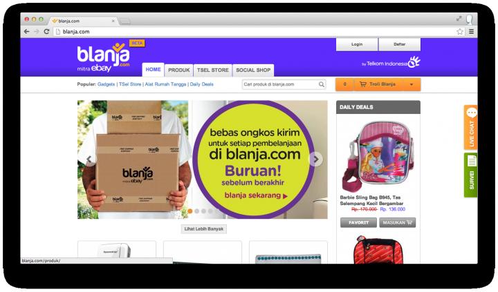 Blanja ebay site