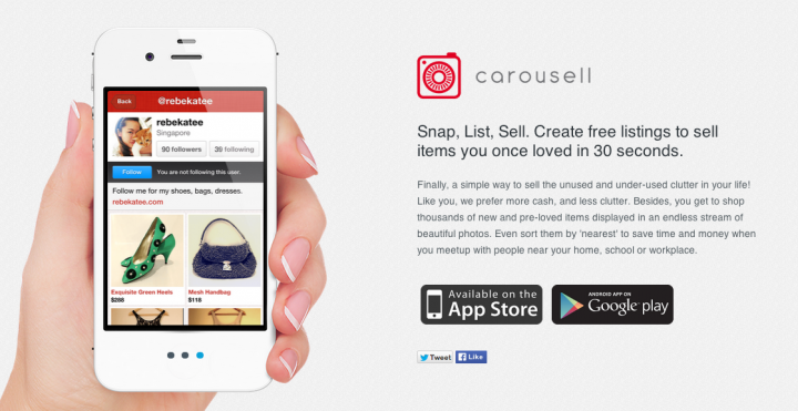 C2C Marketplace Carousell Raises S$1 million funding