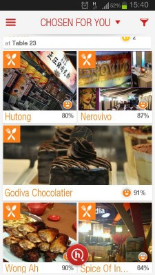 HungryGoWhere Android Mobile App